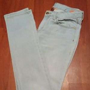 Tory Burch jeans size 9 super skinny light wash